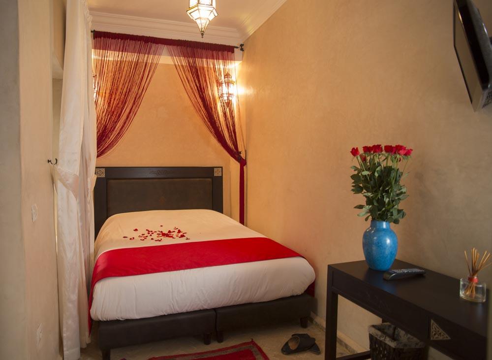 chambre double standartd - riad marrakech jemaa el fna