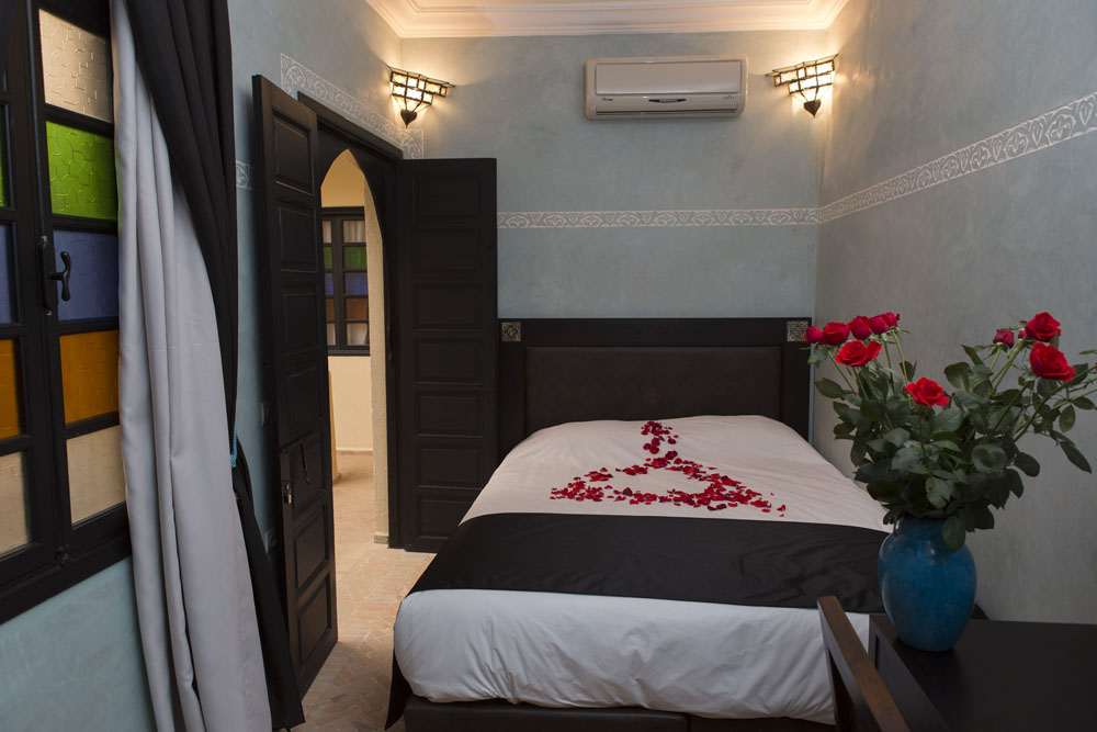 Reservation riad marrakech chambre double superieure for Reservation chambre